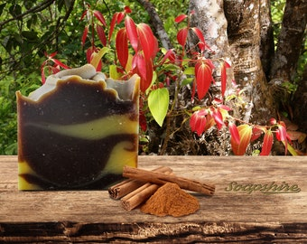 Cinnamon Handmade Soap Vegan- Natural Pie Soap (20g, 100g, Promotion, Wholesale)