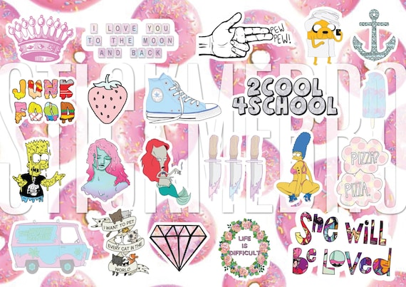 stickers 2 love and school dave story decals vinyl tumblr tumblr stickers stickers on. Black Bedroom Furniture Sets. Home Design Ideas