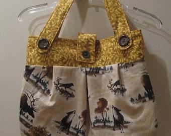 Wildlife Print Handbag/Purse/Tote