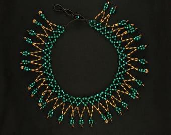 Turquoise Loop Collar