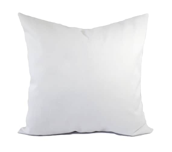two solid white pillow covers white throw pillows white. Black Bedroom Furniture Sets. Home Design Ideas