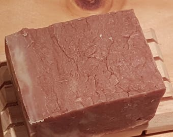 Apple Cider Soap Bar - Handmade, hot process, natural lye soap