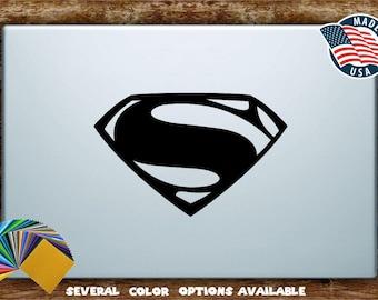 Superman Logo Henry Cavill Man of Steel Vinyl Diecut Decal Sticker All Sizes