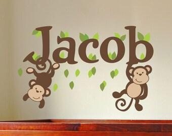 Baby Boy Wall Decal Etsy - Wall decals nursery boy