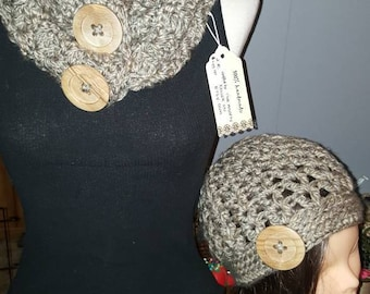 The carolynn cowl and hat set