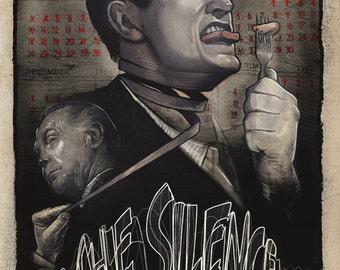 Twilight Zone - The Silence Poster - Franchot Tone Liam Sullivan