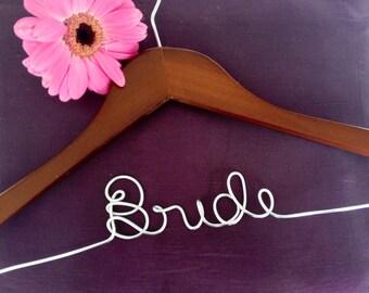 Customized Wedding Hanger, Plain