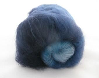 Merino Gradient Batt 40g Blue