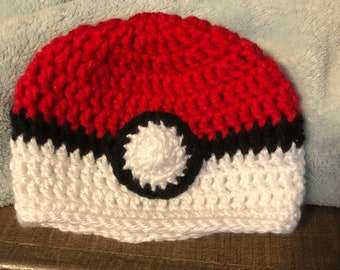 Pokemon pokeball hat