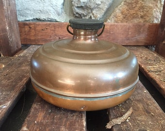 Vintage Copper Wendy Bed Warmer