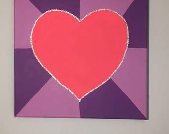 Children's Heart Painting