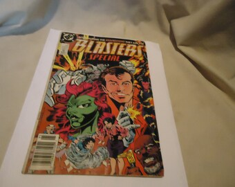 Vintage 1989 Born During The Invasion They Are The Blasters Special  #1 DC Comic, collectable