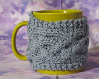 Coffee Cup Sweater for handle mugs  Coffee Cozy / Tea Cozy / Mug Cozy
