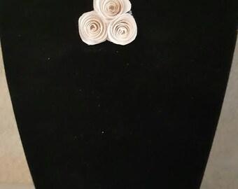Tri-flower Soliloquy Brooch - Blank