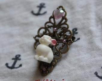 PIN rabbit pink