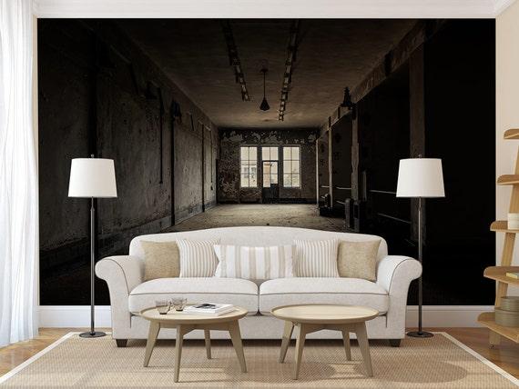 dunklen raum tapete fototapete selbstklebend. Black Bedroom Furniture Sets. Home Design Ideas