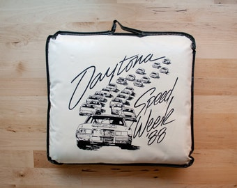 1988 Nascar Daytona 500 Stadium Cushion