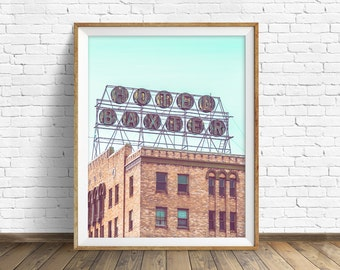 "architecture, large art, large wall art, instant download, instant download printable art, photography, print, wall art - ""Hotel Baxter"""