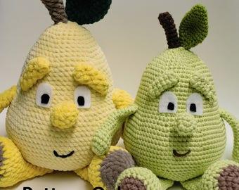 Percy Pear Crochet Pattern