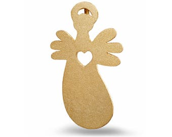 Guardian Angel - Heart - Gold-plated
