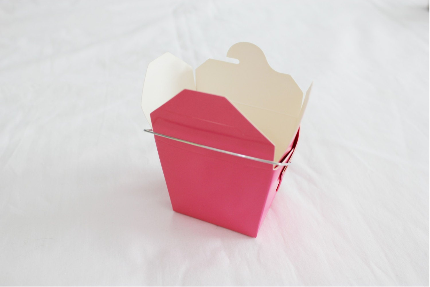 25 Small Hot Pink Chinese Take Out Boxes for Party Favors or more ...