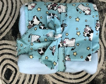 Baby Crib Blanket with Fitted Sheet