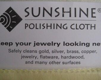 Sterling Silver Polishing Cloth