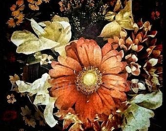 "Floral Art Image ""Good Night"""