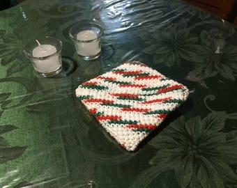 Christmas Trivet/Potholder Small