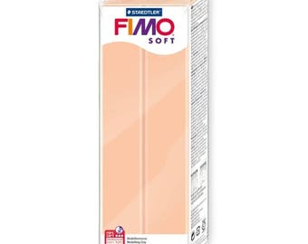 FIMO Soft 350g Large Polymer Modelling Clay - Oven Bake Moulding Clay - Flesh Colour