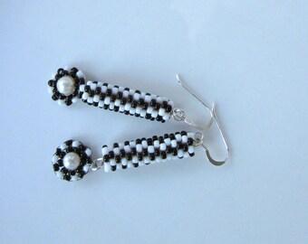 Gabarone Beaded Dangle Earrings