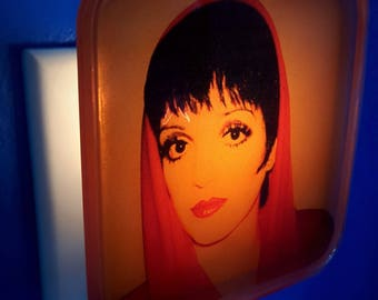 Liza Minnelli Night Light, Judy Garland, Cabaret,  Broadway, Pop art, Andy Warhol, 70s, Liza with a z, Gay Icon, Musical theatre