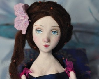 15% SALE! Padme, OOAK art doll