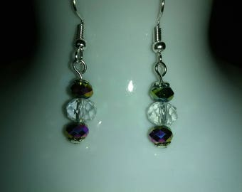 Crystal earrings drop earrings wholesale earrings