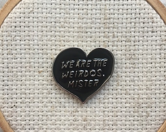 We Are the Weirdos Mister - Witch Needle Minder - The Craft - 90s Movies Magnet - Witch Magnet for Cross Stitch - Modern Embroidery