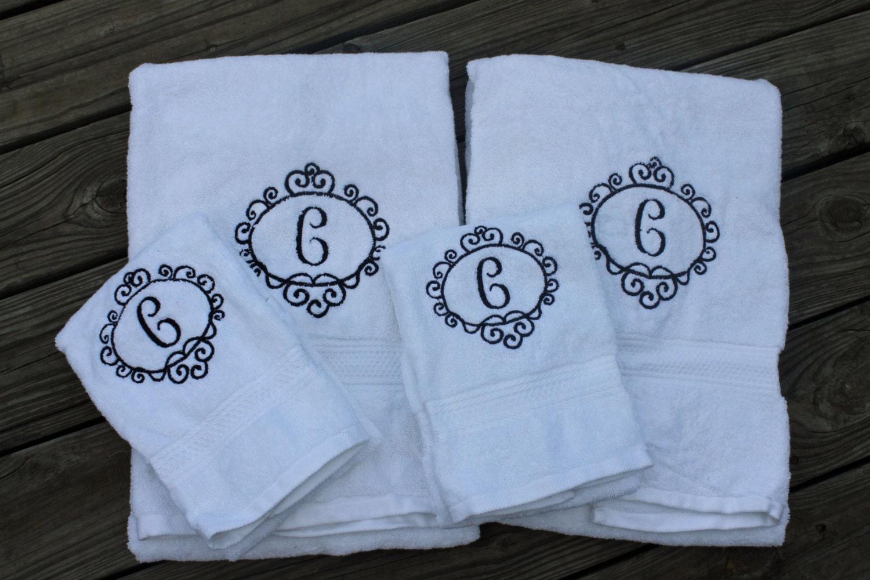 Bath Towel/ Hand Towel Monogrammed monogrammed towels