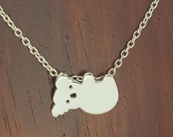 KOALA Handmade Sterling Silver .925 Necklace in a gift box