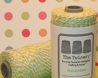 Honeydew Green Bakers Twine from The Twinery  (240 Yd Roll)