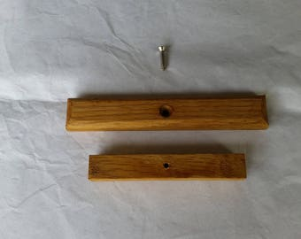 White Oak Wood Replacement Handle for Weber Grill