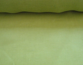 Linen Lime Green Chartreuse
