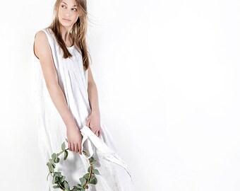 Linen dress, natural linen clothing, linen dress, linen dress for women, linen long loose dress