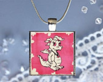 Pendant Necklace Dragons