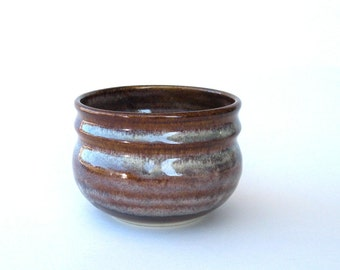 Soup Bowl - Stoneware - Coffee Latte Glaze