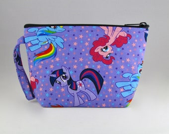 My Little Pony Makeup Bag - Accessory - Cosmetic Bag - Pouch - Toiletry Bag - Gift