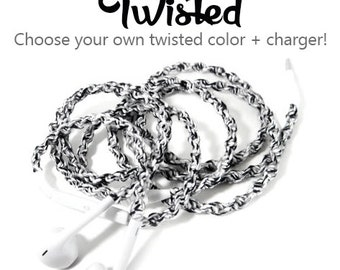 Design Your Own Earbuds   Choose our Own Color & Headphones   Custom Wrapped Tangle Free Earphones   iPhone 8, Android, Skullcandy Earpods