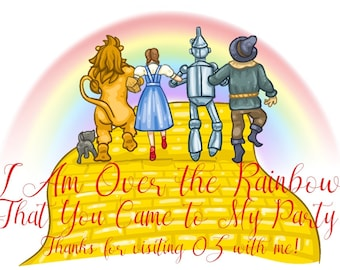 Wizard of Oz Thank You Card