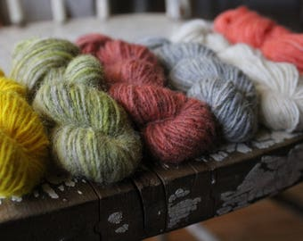 Seafolk -  Naturally Dyed Mini Skein Sets