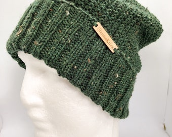 Men beanie, women beanie, beanie, knit green beanie, wool green beanie, green men beanie, green women beanie, wool knit beanie, men hat,