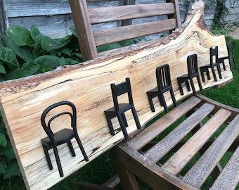 Silver Birch Coat Rack