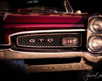 Classic Pontiac GTO - Wall Art, Home Decor, Gifts for Him